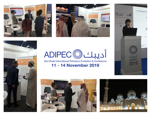 Kairos Technology at Adipec 2019