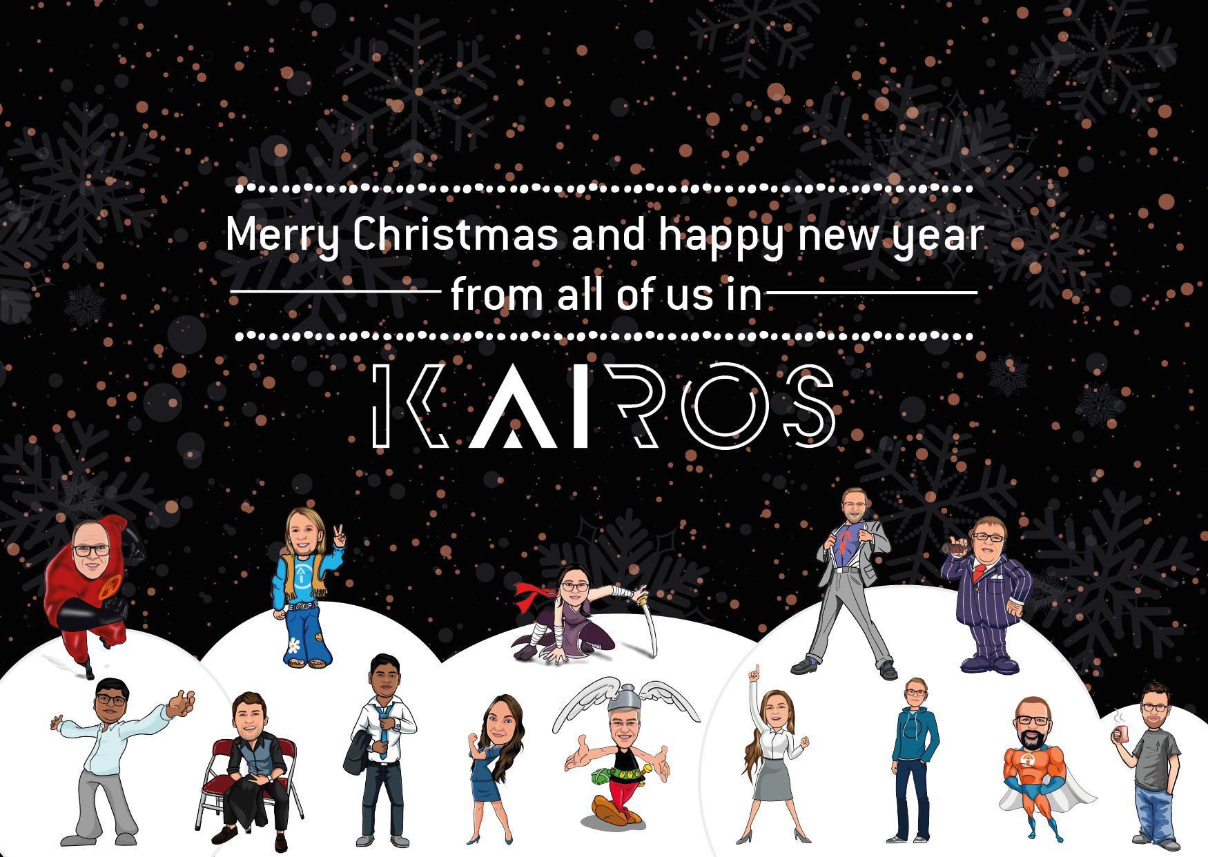 Kairos Christmas Card 2020