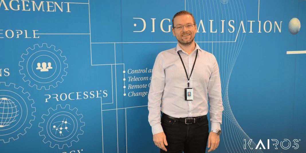 Bjarne André Asheim, daglig leder Kairos Technology